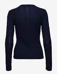 Polo Ralph Lauren - Cable-Knit V-Neck Sweater - trøjer - hunter navy - 2