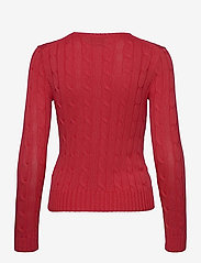 Polo Ralph Lauren - Cable-Knit Cotton Sweater - trøjer - coral - 2