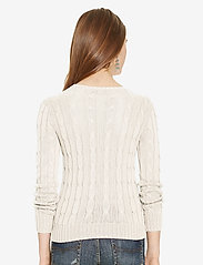 Polo Ralph Lauren - Cable-Knit Cotton Sweater - trøjer - cream - 3