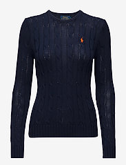 Polo Ralph Lauren - Cable-Knit Cotton Sweater - trøjer - hunter navy - 1