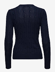 Polo Ralph Lauren - Cable-Knit Cotton Sweater - trøjer - hunter navy - 2