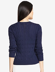 Polo Ralph Lauren - Cable-Knit Cotton Sweater - trøjer - hunter navy - 5