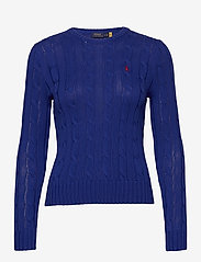 Polo Ralph Lauren - Cable-Knit Cotton Sweater - trøjer - rugby royal - 1