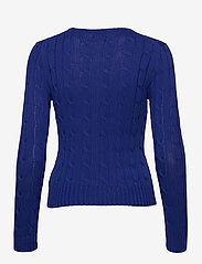 Polo Ralph Lauren - Cable-Knit Cotton Sweater - trøjer - rugby royal - 2