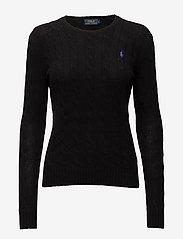 Polo Ralph Lauren - Wool-Cashmere Crewneck Sweater - polo black - 1