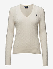 Cable Wool-Cashmere Sweater - CREAM