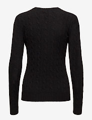 Polo Ralph Lauren - Cable Wool-Cashmere Sweater - swetry - polo black - 1