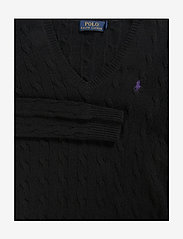 Polo Ralph Lauren - Cable Wool-Cashmere Sweater - swetry - polo black - 3