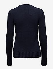 Polo Ralph Lauren - Flag Cotton Crewneck Sweater - jumpers - hunter navy mul - 2