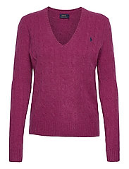 Cable Wool-Cashmere Sweater - COMFREY HEATHER