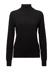 Cashmere Turtleneck Sweater - POLO BLACK