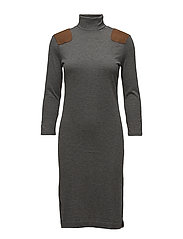 WOOL VISCOSE JERSEY-3\4-CSD - ANTIQUE HEATHER