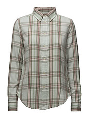 Y/D BRUSHED PLAIDS-LSL-SHT - 561 PALE GREEN/PI
