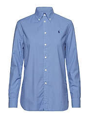 Relaxed Fit Oxford Shirt - FRENCH BLUE