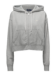 Lightweight Fleece Hoodie - ANDOVER HEATHER