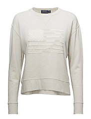 PACIFIC TERRY-LSL-KNT - NEW SAND HEATHER