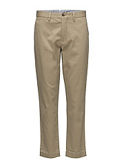 Stretch Twill Cropped Pant - LUXURY TAN