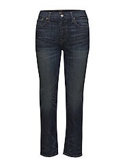 Waverly High-Rise Crop Jean - DARK INDIGO