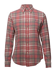 Classic Fit Cotton Plaid Shirt