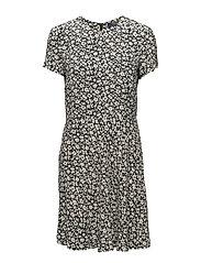 Floral-Print Crepe Dress - CANNE FLORAL PRIN
