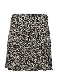 Floral Crepe Skirt - CANNE FLORAL PRIN