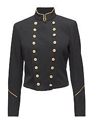Wool Admiral Jacket - POLO BLACK