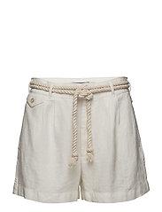Linen Short - WHITE