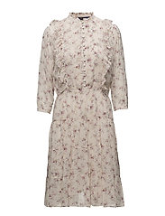 Floral Guaze Dress - GARDEN FLORAL