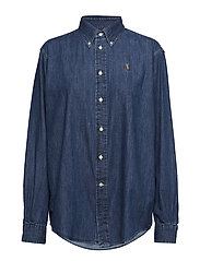 Chambray Big Shirt - MEDIUM INDIGO