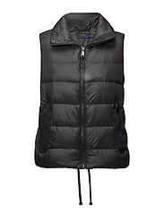 Crest Down Vest - NAVY GREY