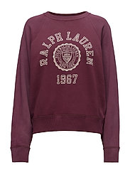Collegiate Fleece Pullover - AUBERGINE