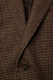 Polo Ralph Lauren - Houndstooth Tweed Blazer - suits & co-ords - brown/camel hound - 2