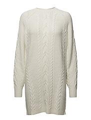 2d305f59e Aran-knit Wool Sweater Dress (Navy) (£136.95) - Polo Ralph Lauren ...