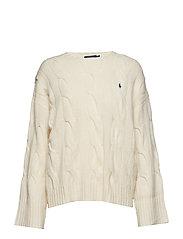 Dolman Wool Sweater - CREAM