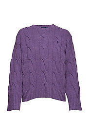 Dolman Wool Sweater - THISTLEDOWN HEATH