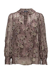 Frky Long Sleeve-Shirt - DUSTY FLORAL