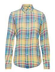 40'S DBL PLAID-LSL-SHT