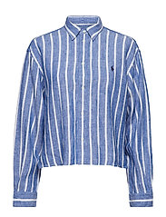 LINEN STRIPES-LSL-SHT