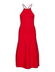 Halter Dress - MARTIN RED