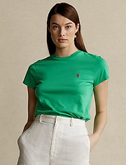 Polo Ralph Lauren - Cotton Jersey Crewneck Tee - t-shirts - golf green - 0