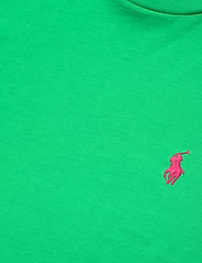 Polo Ralph Lauren - Cotton Jersey Crewneck Tee - t-shirts - golf green - 3