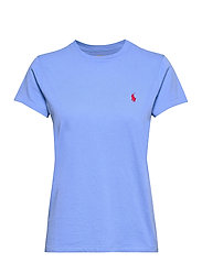 Cotton Jersey Crewneck Tee - HARBOR ISLAND BLU