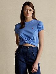 Polo Ralph Lauren - Cotton Jersey Crewneck Tee - t-shirts - harbor island blu - 0