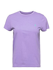 Cotton Jersey Crewneck Tee - HYACINTH
