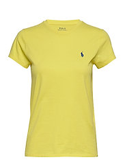 Cotton Jersey Crewneck Tee - LEMON CRUSH