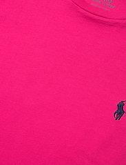 Polo Ralph Lauren - Cotton Jersey Crewneck Tee - t-shirts - sport pink - 3