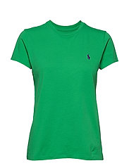 Cotton Jersey Crewneck Tee - TILLER GREEN