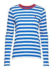Striped Cotton Shirt - HERITAGE BLUE/WHI