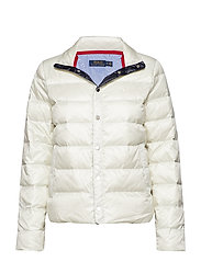 Water-Repellent Down Jacket - CHIC CREAM