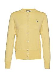 Cotton Cardigan Sweater - BRISTOL YELLOW
